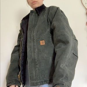 Green Carhartt Jacket